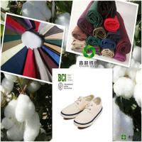 100BCIbetter cotton fabric combed  poplin plain cloth certificate for Bed cover Manufactures