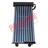 Multi Function Solar Thermal Collectors , 10 Tube Solar Collector Flat Roof Installation Manufactures