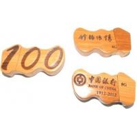 China Bamboo USB memory stick 2GB on sale