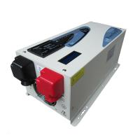 China 2000W 24V 220V 50/60hz LCD display solar power inverter with charger on sale