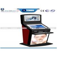Shopping Mall Self Service Computer Kiosk Strong Functional And Security Manufactures