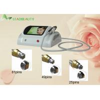 China Portable super facial lifting fractional RF 5MHZ RF frequency skin rejuvenation for spa use on sale