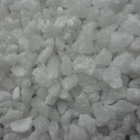 F20 White Aluminium Oxide Blasting Grit For Chilled Steel Large Crystal Size Manufactures