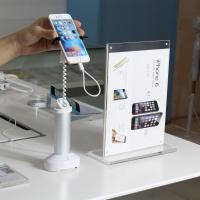 COMER clip stands gripper security alarm display holder anti theft display stand for mobile phone Manufactures