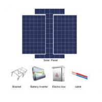 China 380-480v Solar Cell System , Solar Power System 50HZ/60HZ Output Frequency on sale