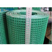 PVC Galvanized Welded Wire Mesh Construction Application High Stability Manufactures