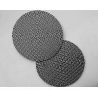 Sintered Stainless Steel Filter Mesh 304/316/316L Round Opening Metal Mesh Manufactures