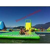 Buy cheap Adults Lake Inflatable Floating Water Park, Aqua Fun Games With CE Certificate from wholesalers