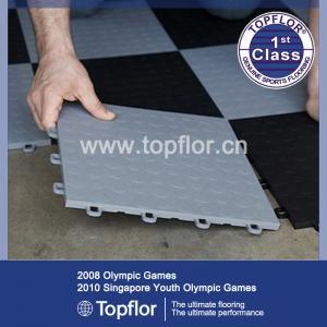 Interlocking pvc car garage floor tiles Manufactures
