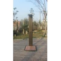 Leisure Wicker Shower For Outdoor Garden / Beach / Swimming Pool Manufactures