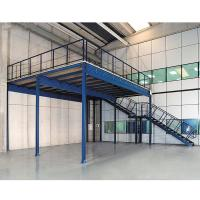 China Durable Storage Industrial Mezzanine Systems Custom Size Powder Coating Surface on sale