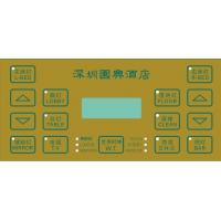 Flexible Circuit Tactile Membrane Switch Overlay With 3M Adhesive Concave-convex Manufactures