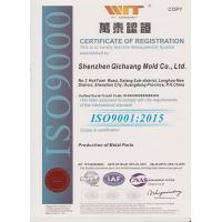 Qi Chuang Mold Co., Ltd Certifications