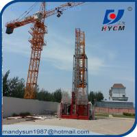 2ton Construction Hoist with Rack and Pinion and Wire Rope for Building Manufactures