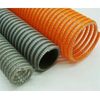 Flexible PVC Water Hose Reinforced Helix Suction And Discharge Hose / Pipe / Tube