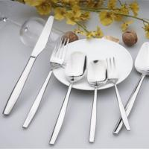 Nc011 Stainless Steel Spoon Fork Cutlery Flatware