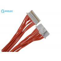 China Both Ends 501330-1000  Molex 10 Pin 1.0mm Wire To Board Connector Backlight Cable Harness on sale