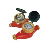 Brass Multi Jet Water Meter Hot With Magnetic Drive , LXSGR-15E Manufactures