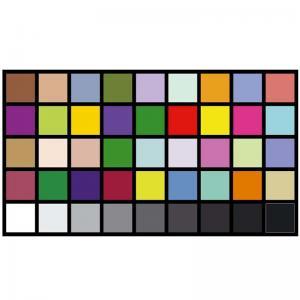 AC220V Reflective DTV Color Rendition Test Chart Sineimage YE0226 Manufactures