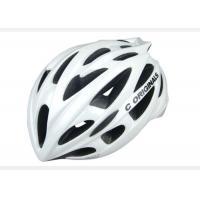 PC Silver Adult Bicycle Helmet Safety Double Shell Pc Inmould Sv666 Manufactures