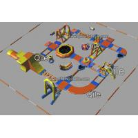 Giant Inflatable Water Park Made Of 0.9mm PVC Tarpauline With CE Certificate Manufactures