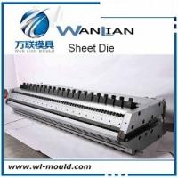 China PC /PP/PE/ABS/PVC/HDPE.PMMA Sheet Die/ Sheet Extrusion Mould on sale