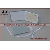 Quality Single Fabric Linen DVD CD Box for sale
