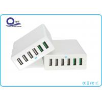 Qualcomm Certified QC 3.0 Quick Charge 6 Port USB Charger for Smartphones Tablets Manufactures