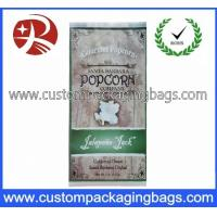 Pretty Compound Vacuum Plastic Food Packaging Bags For Popcorn Packaging