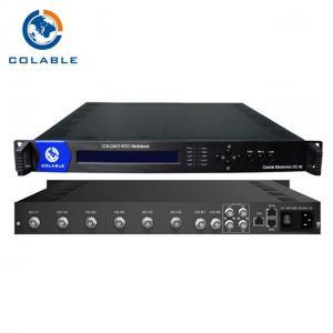 ATSC T To IP Video Multiplexer 2 ASI + 6 Tuner DVB T2 DVB T For Digital TV Broadcasting Manufactures