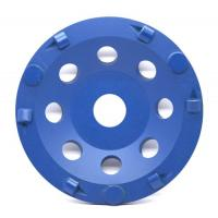 PCD Diamond Cup Grinding Wheel , Cup Stone Grinding Wheel With Hard Alloy Manufactures