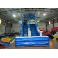 Digital print inflatable Naval Air Force Helicopter standard slide inflatable high dry slide for Children under 15 years Manufactures