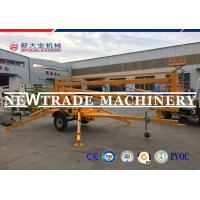 China Outdoor Installation Hydraulic Scissors Lift Table Trailer Mounted Articulated Boom Lift on sale