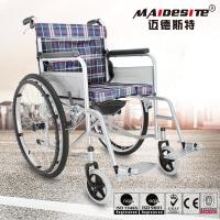 Maidesite Lightweight Manual Wheelchair Customized Color Easy Cleaning Manufactures