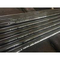 China ASTM A106 / A53 / API 5L PSL1  PSL2 GR. B Carbon Steel Seamless Pipe 114.3X13.49X6000MM Black Coating Surface Plain End on sale