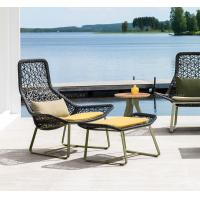 Hot sales Leisure Hotel Aluminium PE Rattan chairs and table Outdoor Garden Backyard Lounge chair Manufactures