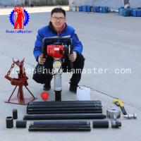 QTZ-3 Soil testing sampling rig small soil coring rig portable sand sample engineering survey rig Manufactures