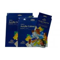 Quick Dry Acrylic Paint Pigment , Wood Paint Set Acrylic Colors For Painting Manufactures