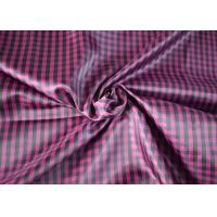 Traditional 100 Polyester Lining Fabric Comfortable Touch Woven Type Manufactures