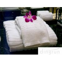 Dry Fast Premium Cotton Face Washer Towel Cloths For Hotel , Environmental Friendly Manufactures