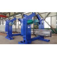 5T Capacity Oval Tank Turning Rolls I Beam Tilting Machine 1500mm/min Manufactures