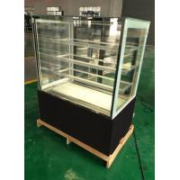 Marble Glass Bakery Pastry Cake Display Refrigerator Low Noise RoHS SGS Manufactures