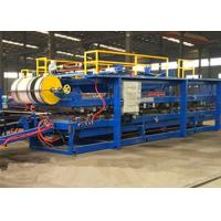 Discontinuous Wall Pu Sandwich Panel Machine 300 - 500kpa Tensile Strength Manufactures