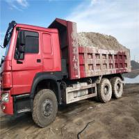 China used howo dump truck with big capacity 40ton tippers/original diesel dump truck with 12 wheels on sale