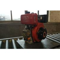Electric Starter 6.3kw 1800rpm Power Tiller Engine Single Cylinder KA186FSE