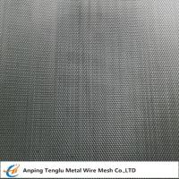 China Titanium Wire Mesh Cloth|Plain or Twill Weave 1~400mesh by TA1 on sale