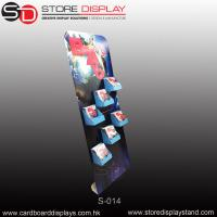 custom corrugated paper POP standee with small trays Manufactures