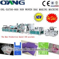 ONL-XA700-800 Popular high speed non woven D-cut bag making machine price Manufactures