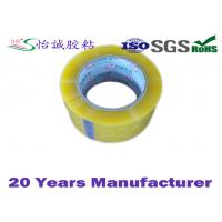 Quality 99 Yards Long BOPP adhesive tape , Excellent Initial Tack Sealing tape for sale