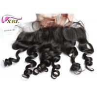 China Fashion Style Grade 8A Ear To Ear Lace Front Closure Light Brown Lace Color wholesale